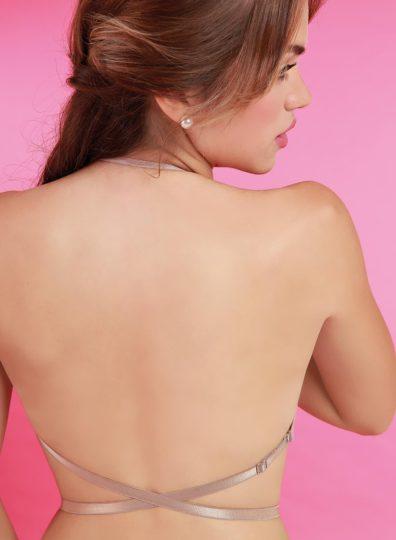 Corpiño taza soft sin espalda Varias posiciones
